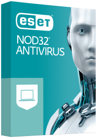 ESET NOD32 Antivirus - 3d box regular - RGB